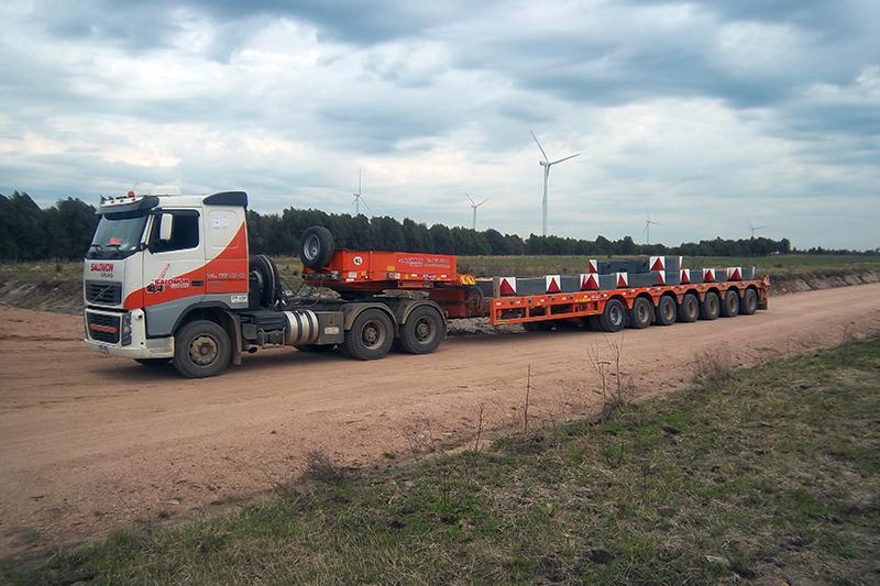 Salomón Transporte profesional de cargas