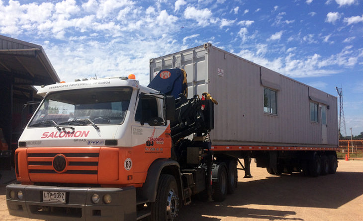 Soluciones para manipulación y transporte de contenedores
